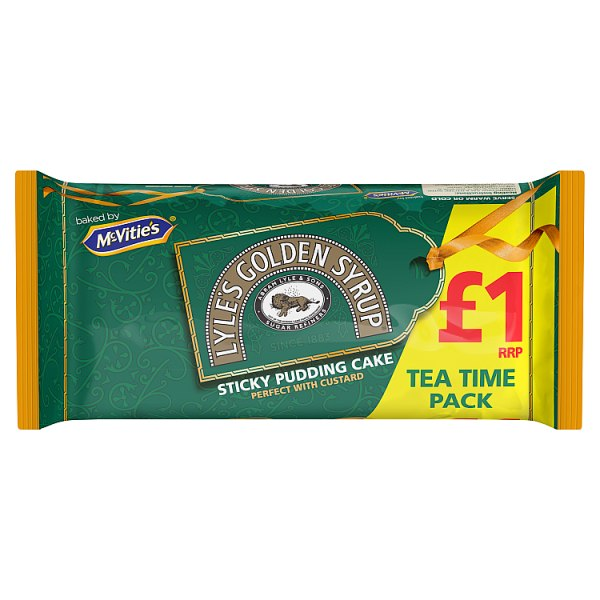McVities Lyles Golden Syrup sticky Pudding cake 200g