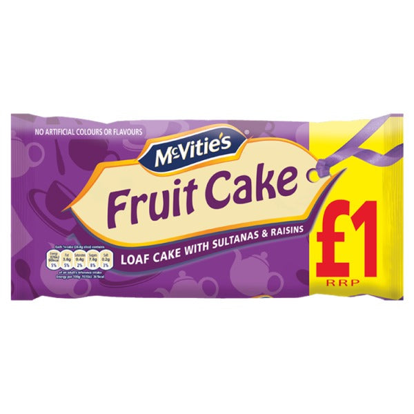 Mcvitie's Fruit Loaf cake