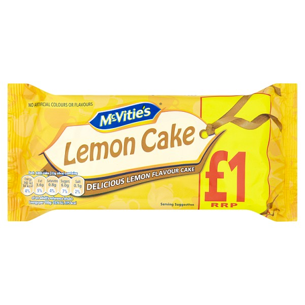 Mcvities Lemon Cake