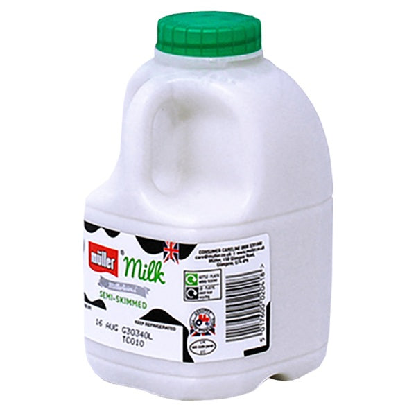 Mullers Semi Skimmed MIlk 568ml
