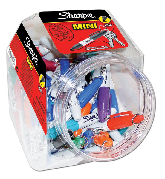 SHARPIE MINI ASSORTED COLOURS ACETATE JAR S0811300