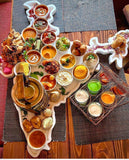 Vegetarian Thali Dinner Meal for 2