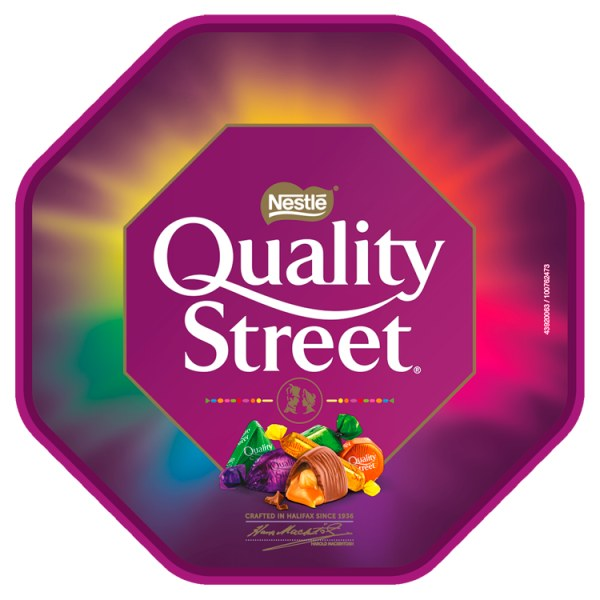 Quality Street Chocolate, Toffee and Cremes Tub 650g