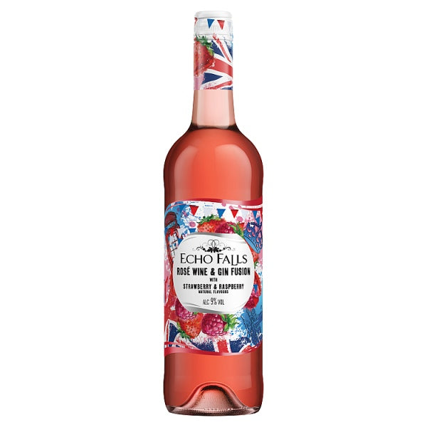 Echo Falls Rosé Wine & Gin Fusion 750ml