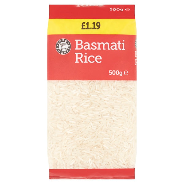 Euro Shopper Basmati Rice 500g