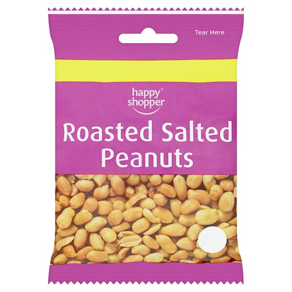 Happy Shopper Roasted Salted Peanuts 80g