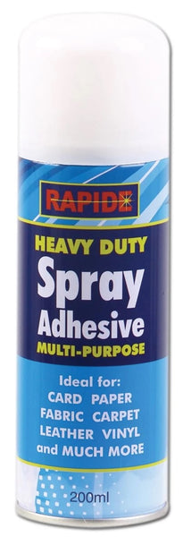 RAPIDE 200ML HEAVY DUTY SPRAY ADHESIVE 95404