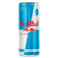 Red Bull Energy Drink, Sugar Free, 250ml