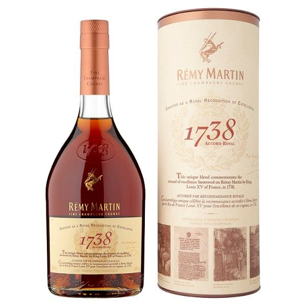 Rémy Martin 1738 Accord Royal Cognac 70cl
