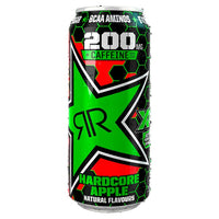 Rock star XD Power Hardcore Apple Energy Drink 500ml Can
