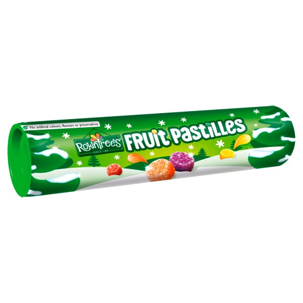 Rowntree's Fruit Pastilles Sweets Giant Tube 125g