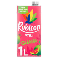 Rubicon Still Guava Juice Drink 1L Carton.