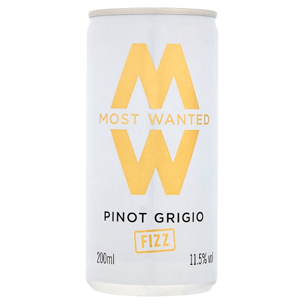 Most Wanted Pinot Grigio Fizz 200ml