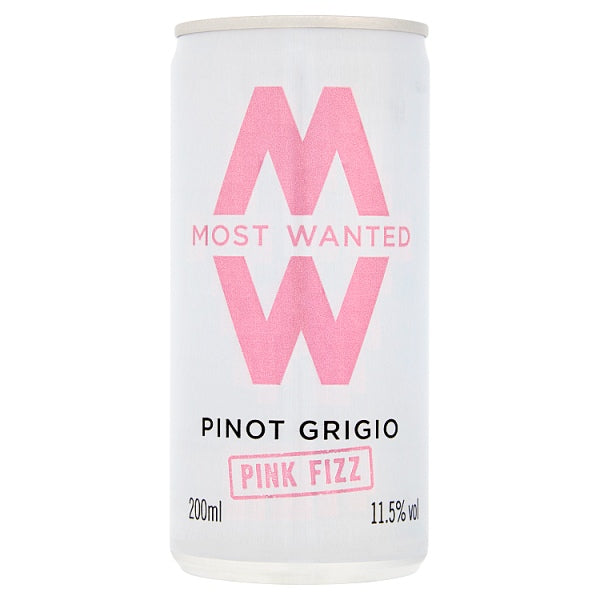 Most Wanted Pinot Grigio Pink Fizz 200ml