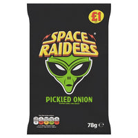 Space Raiders Pickled Onion Flavour Cosmic Corn Snacks 78g