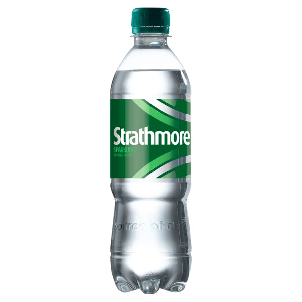 Strathmore Sparkling Spring Water 500ml Bottle