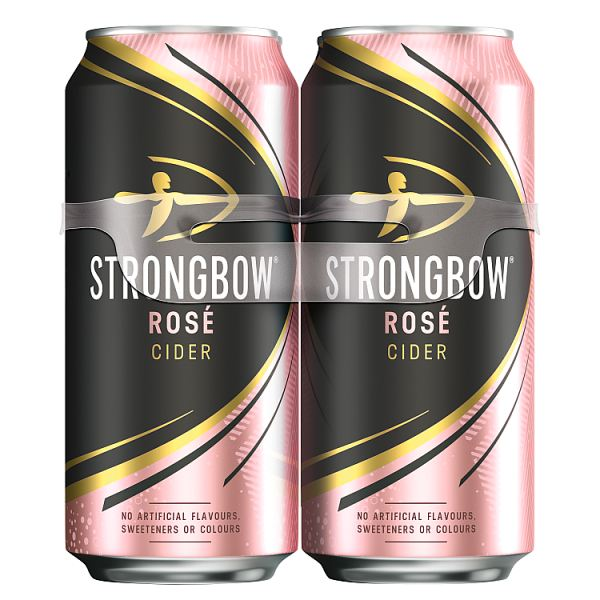 Strongbow Rosé Cider 4 x 440ml