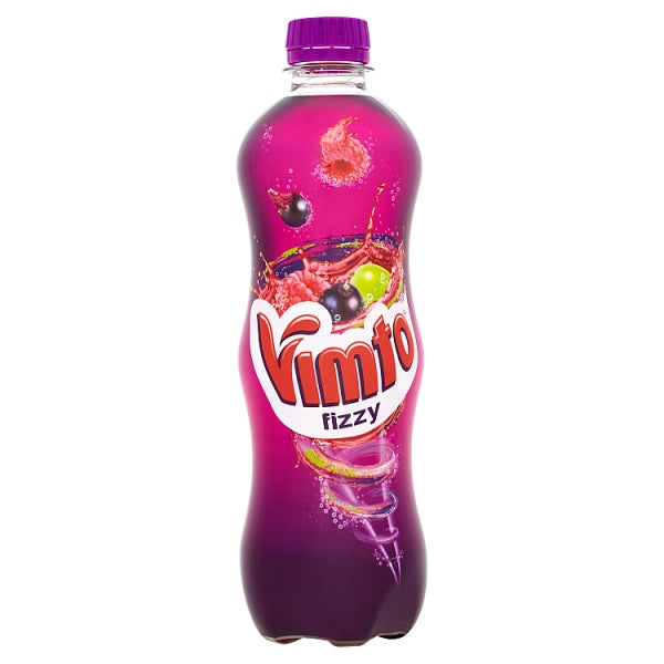 Vimto Fizzy Mixed Fruit Juice Drink 12 x 500ml