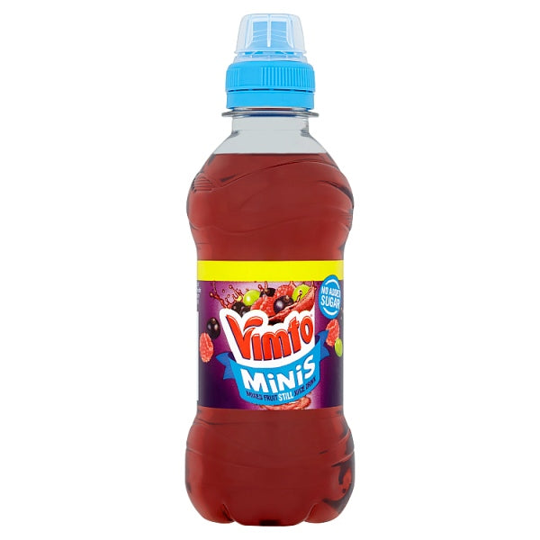 Vimto No Added Sugar Minis Mixed Fruit Still Juice Drink 250ml