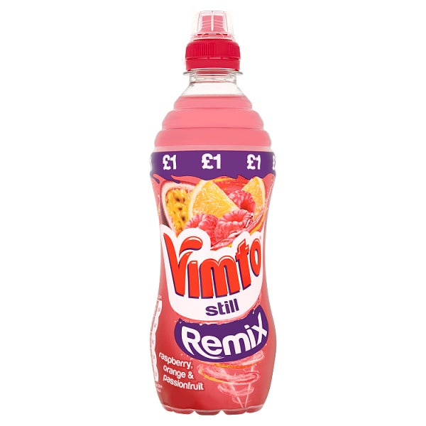Vimto Still Remix Raspberry, Orange & Passionfruit 500ml