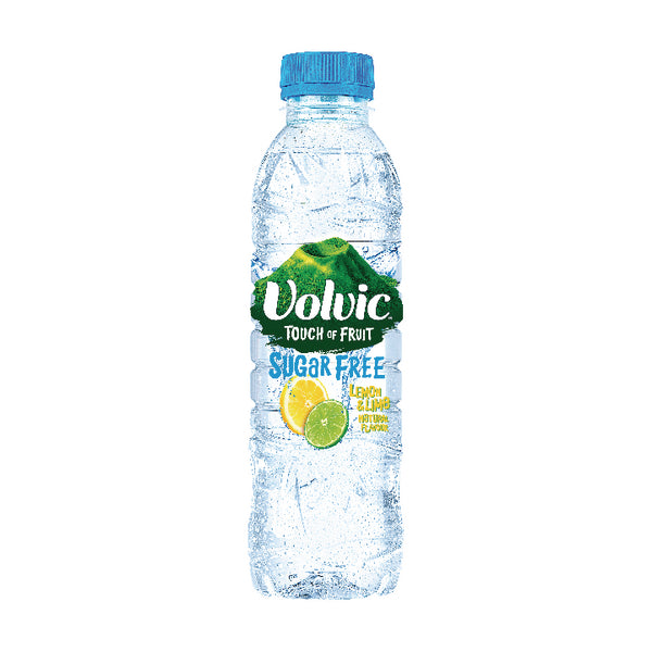 Volvic Touch of Fruit Lemon & Lime Flavoured Water 500ml