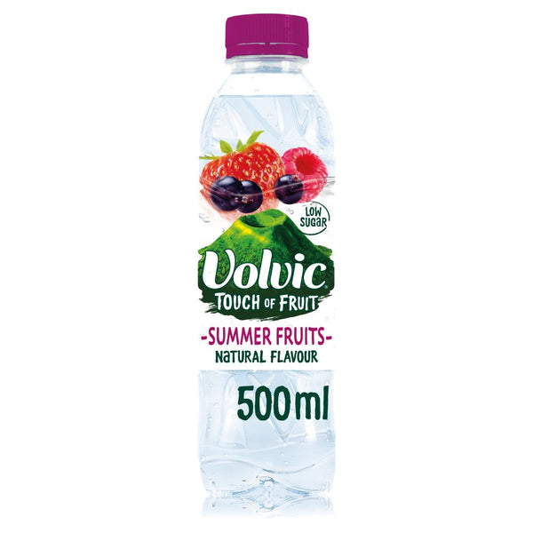Volvic Touch of Fruit Summer Fruits Flavoured Water 500ml