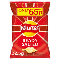 Walkers Ready Salted Crisps 65p