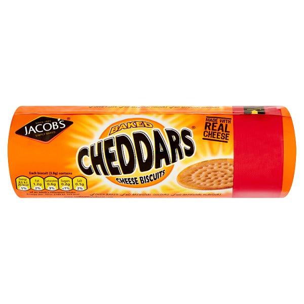 Jacobs Baked Cheddars Cheese Biscuits 150g