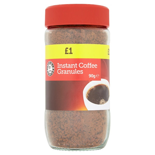 Euro Shopper Instant Coffee Granules 90g