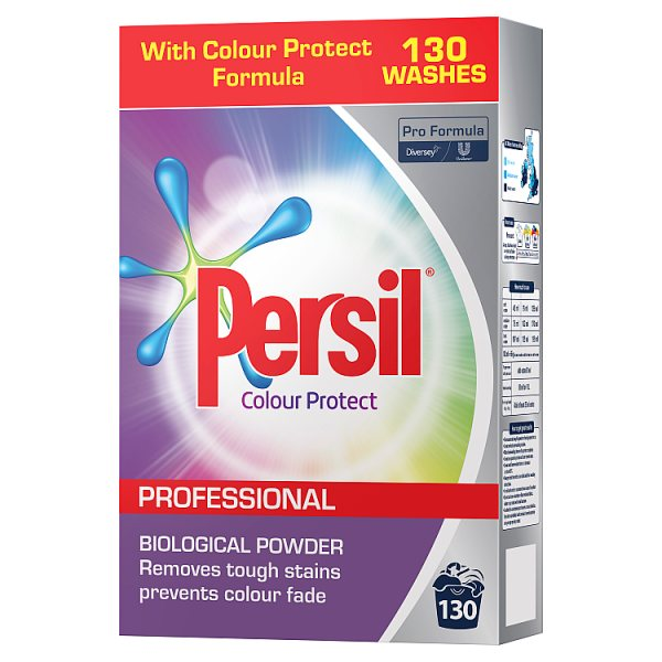 Persil Professional Colour Protect Biological Powder 130 Washes 8.4kg