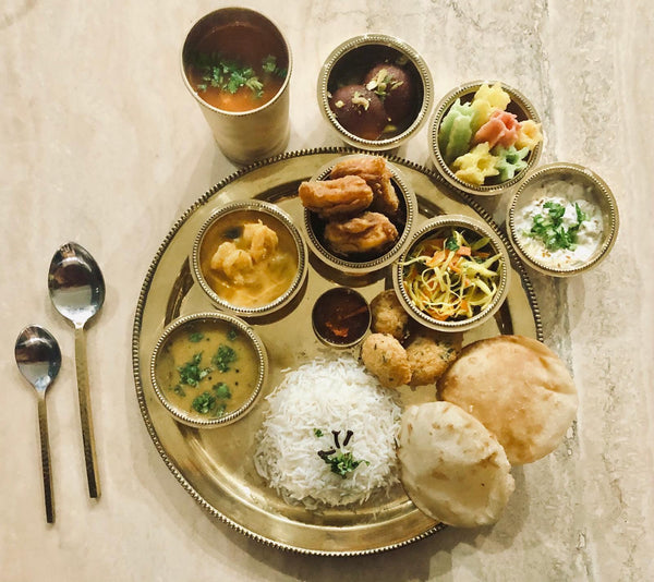 Fish Thali Dinner Meal for 2