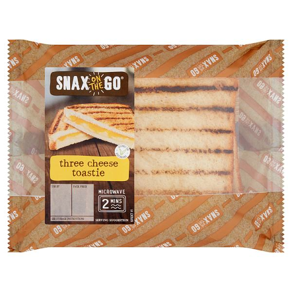 Snax on the Go Three Cheese Toastie