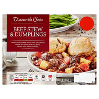 Discover the Choice Beef Stew & Dumpling