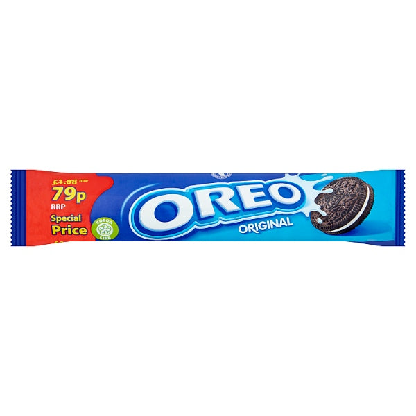 Oreo Original Sandwich Biscuits 79p 154g