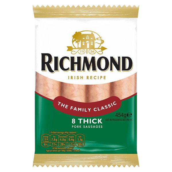 RICHMOND THICK SAUSAGES