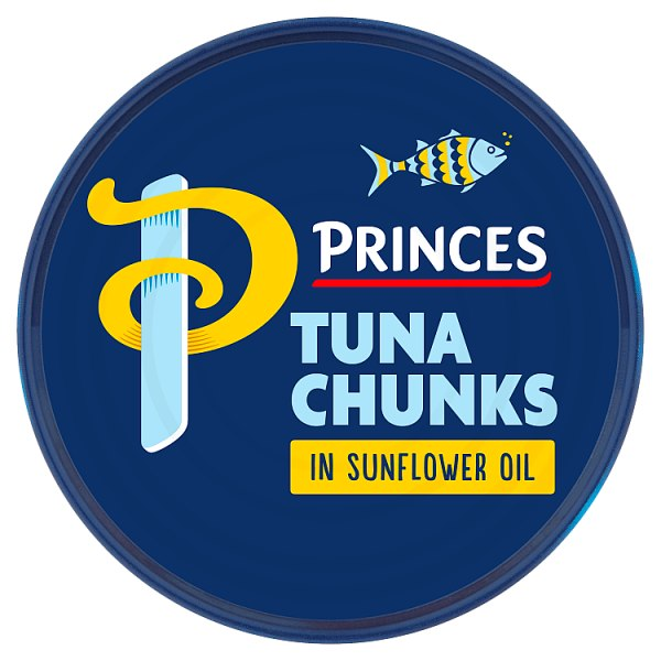 Princes Tuna Chunks in Sunflower Oil 145g (Drained Weight 102g)