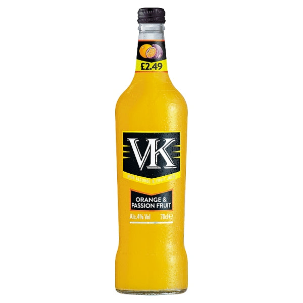 VK Orange & Passion Fruit 70cl