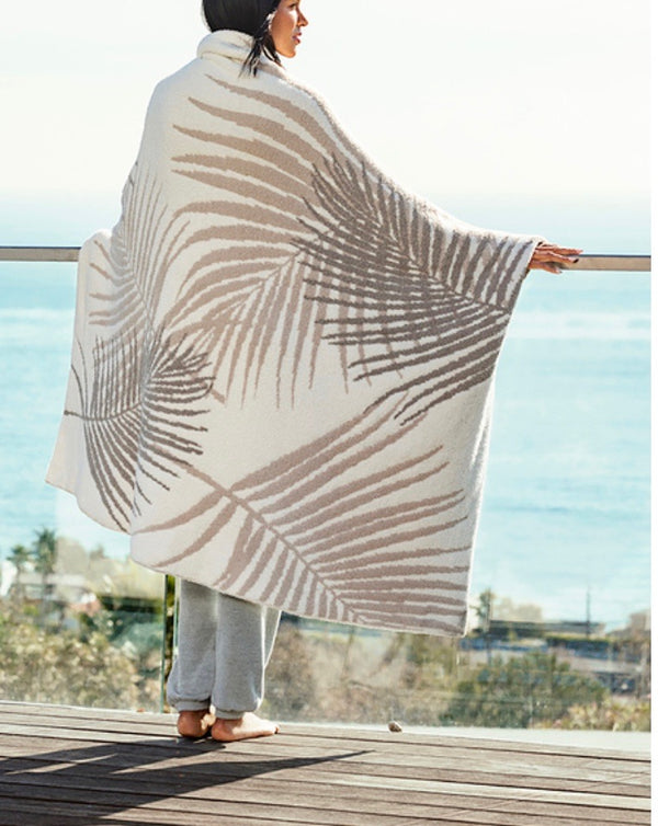 COZYCHIC® PALM LEAF BLANKET