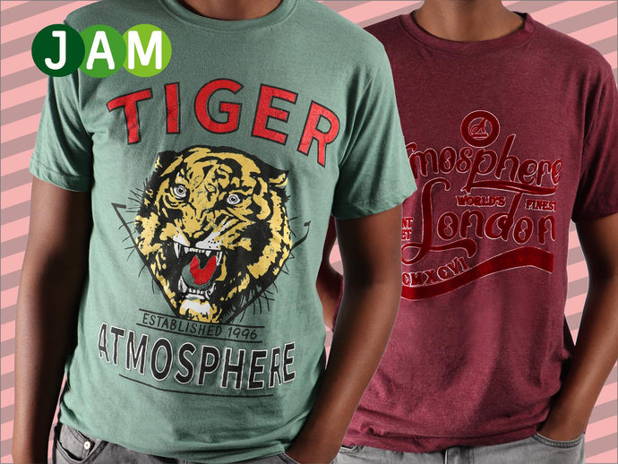 Amp up your t-shirt game with men's graphic tees
