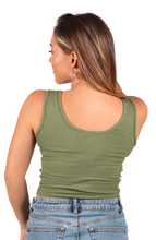 Load image into Gallery viewer, Ribbed Crop Top   - Jam Clothing