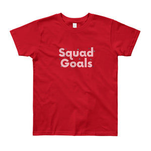 L8 Bloomers Squad Goals Youth Short Sleeve T-Shirt