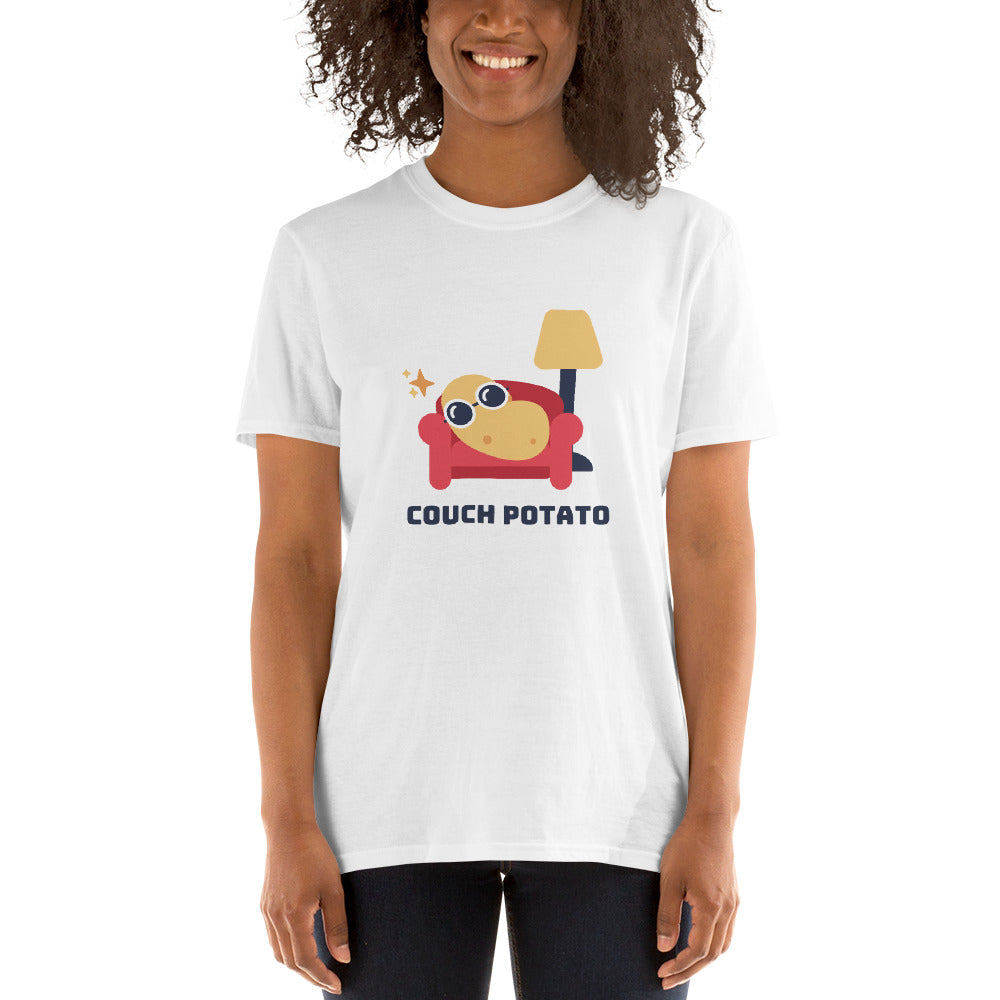 L8 Bloomers Couch Potato Short-Sleeve Unisex T-Shirt