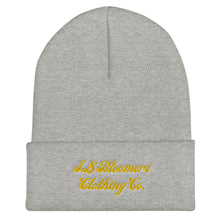 Load image into Gallery viewer, L8 Bloomers CP Gold Cuffed Beanie