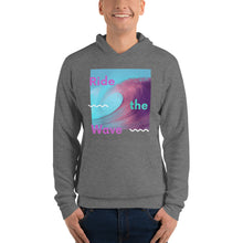 "Load image into Gallery viewer, L8 Bloomers ""Ride The Wave"" Unisex hoodie"