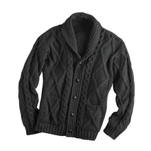 Load image into Gallery viewer, Men's Casual Knitted Button Up Cardigan Sweater with Pockets