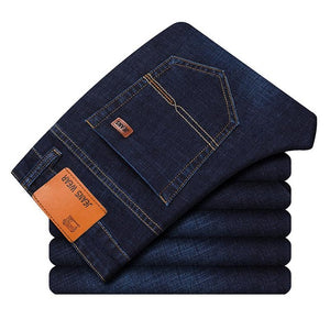 Men's Slim Straight Denim Jeans