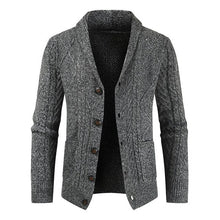 Load image into Gallery viewer, Men's Knitted Long Sleeve Cardigan Jacket