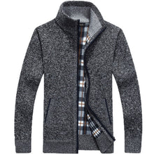 Load image into Gallery viewer, Men's Full Zip Fleece Cardigan
