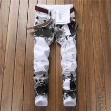 "Load image into Gallery viewer, Denim Designer ""Snowfall"" Jeans"