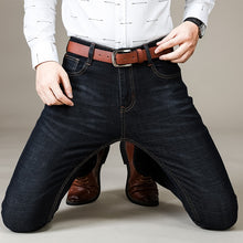 Load image into Gallery viewer, Men's Slim Straight Denim Jeans